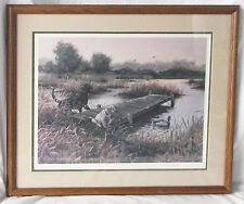 """Hindslight"" Print Signed Susan Norris-Ducks Unlimited Artist of the Year'87-88"
