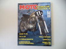 MOTO STORICHE E D'EPOCA 2/1999 AJS 31 CSR/PARILLA 250 CROSS/LAMBRETTA 125 A