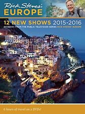 Rick Steves' Europe: 12 New Shows 2015 -16(DVD, 2013, 2-Disc Set) FREE SHIPPING