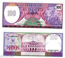 Suriname SURINAM Billet 100 GULDEN 1985 P128 NEUF UNC