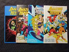 1983 AMAZING HEROES #19 20 31 32 VF 8.0 LOT of 4 Gil Kane - Amethyst