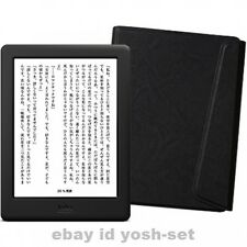 New Kobo Glo HD eReader Wi-Fi 6in 4GB Black Touchscreen Sleep cover set Japan