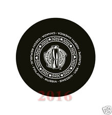 2016 World Cup of Hockey - Exhibition Game Puck Sweden vs Finland Sep. 08