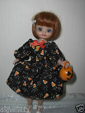 8 inch BETSY McCALL HALLOWEEN Party w/ Pumpkin Tote Doll Clothes