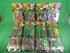 1991 Kenner Swamp Thing Set of 12 Action Figures Mint on Card