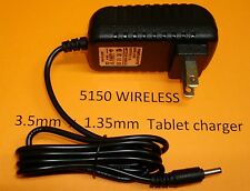 3.5mm 5V 2 AMP AC/DC Wall Charger for Nextbook Tablet NXW101QC232 10.1""