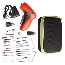 Lock Pick Cordless Electric Tools Locksmith Set Door Lock Opener + Guides + GIFT