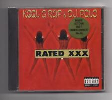 KOOL G RAP & D.J. POLO - Rated XXX CD 1996 SEALED Cold Chillin'