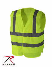 Police Security Crossing Guard Green Breakaway Reflective Traffic Safety Vest