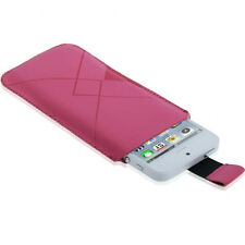Funda iPHONE 5 4S 4 3GS 3G OX Aterciopelada Sleeve Pull-up