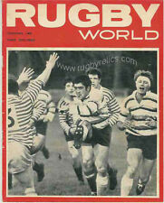 RUGBY WORLD MAGAZINE THE PERFECT GIFT FOR A RUGBY FAN BORN IN FEBRUARY 1968
