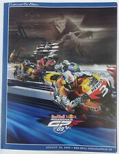 2009 Red Bull Indianapolis Moto GP Program J. Lorenz New