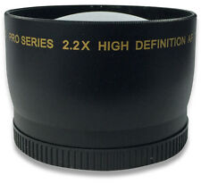 I3ePro 52mm 2.2X Telephoto Lens For Nikon 18-55mm, 55-200mm, 50mm f/1.8D Lenses