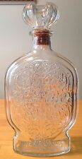 Vintage 1950's Schenley Whiskey Bottle/Decanter With Cork Stopper