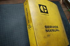 CAT Caterpillar 980C Wheel Loader Repair Shop Service Manual book owner factory