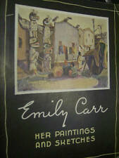 Emily Carr-Her Paintings & Sketches Book, Paperback, 1945-Oxford University Pres