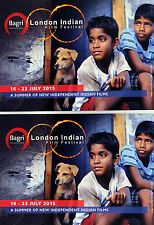 3 X LONDON INDIAN FILM FESTIVAL 2016 POSTCARDS - THE CROW'S EGG