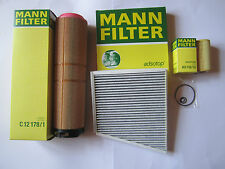 MANN FILTER OIL AIR ACTIVATED CARBON W211 S211 200 220 270 CDI E-CLASS