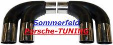 Porsche 997 + S MK1  Sport Cup Exhaust Muffler Sport exhaust bypass pipe