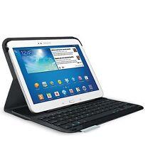 """Logitech Ultrathin Keyboard Folio Case Black for Samsung Galaxy Tab 3 10.1"""" USED"""