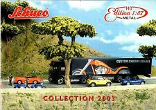 SCHUCO HO EDITION 1:87 COLLECTION, 2003 CATALOGUE