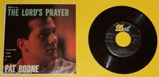 The Lord's Prayer – Pat Boone 45 RPM EP record 1957 Nice Cover See!