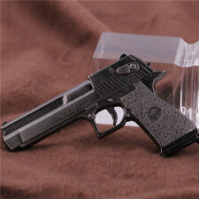 10cm Mini Cross Fire CF Desert Eagle Pistol Weapon Metal Gun Keychain Keyring