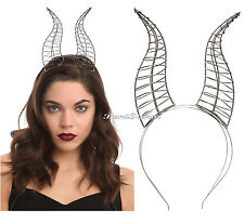 NEW Disney Maleficent Wire Horns Movie Replica Adult Headband Costume Cosplay