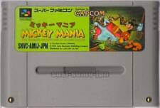 """ MICKEY MANIA "" MICKEY MOUSE SFC SNES SUPER FAMICOM JAPAN"