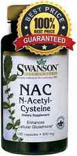 NAC N-Acetyl Cysteine 600mg 100 Capsules, LIVER / DETOX, STRONG ANTI OXIDANT
