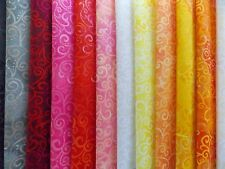 """Ombre Swirls and Dots 37 Piece Charm Pack Fabric 5"""" Squares Premium Cotton"""