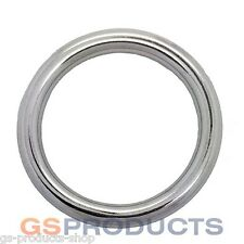8mm x 40mm Stainless Steel Round Ring FREE Postage & Packaging!