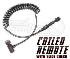 Ninja Paintball Coiled Remote Line w/ Slide Check & Quick Disconnect