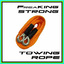 3000 KG Freaking Strong Tow Towing Rope ☠ 4m / 400cm ☠ Heavy Duty Recovery Strap