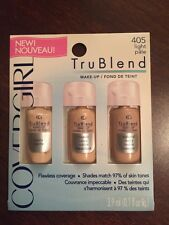 New CoverGirl TruBlend Liquid Makeup Sample in #405 Light Pale - Quantity of 2