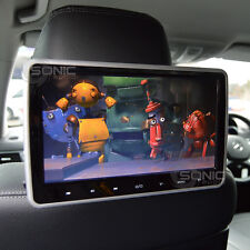 Plug-and-Play Car HD Headrest DVD Player/Screen USB/SD/HDMI Mercedes C/E-Class