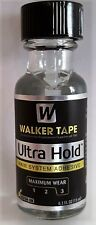 ULTRA HOLD LACE WIG ADHESIVE GLUE BY WALKER TAPE 0.5 OZ WITH BRUSH