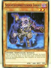 YU-GI-OH - 1x seuchenverbreitender Zombie-sdse-Structure Deck in modo sincrono EXTRE