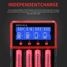 HXY-H4 Multifuctional Electric LCD Display Battery Charger For 18650/26650 LO