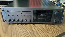 Vintage Carver MXR-130  am/fm stereo reciever with handles