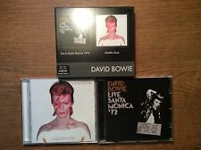 David Bowie [2 CD Alben] Aladdin Sane + Live in Santa Monica 1972 /Originals BOX