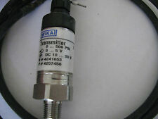 Wika C-10 Pressure Transmitter 0-500psi # 4241653