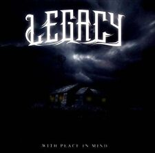 LEGACY-WITH PEACE IN MIND CD NEW