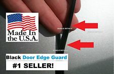 GMC molding Trim Guard Protectors (4 Door Kit) BLACK DOOR EDGE GUARDS