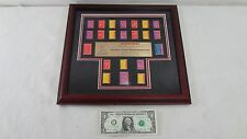 McDonalds Offical Collectors Sports Pin Set 1999 Special Olympics Limited Framed