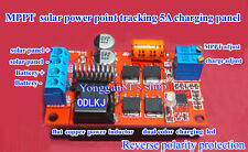 5A MPPT Solar Panel Regulator Controller Battery Charging 12V 24V Auto Switch
