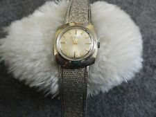 Ladies Swiss Made 17 Jewels Bluebell Wind Up Watch - Runs Fast