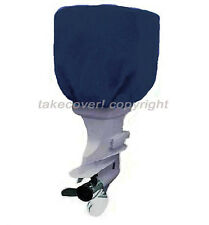 50 - 115 HP Boat Outboard Motor Engine Cover Blue Universal Trailerable N15