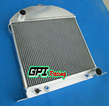 aluminum alloy custom radiator FOR Ford model A chopped w/Chevy engine 28-31 29