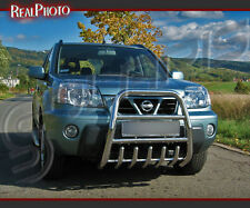NISSAN X-TRAIL MK1 01-06  SET OF SIDE STEPS + HIGH BULL BAR